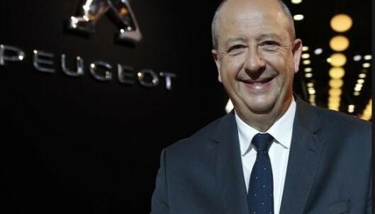<strong>EU TVINGER OSS:</strong> - Kravene fra EU tvinger oss til å selge elbiler, sier Peugeot-sjef Jean Philippe Imperato. Foto Peugeot