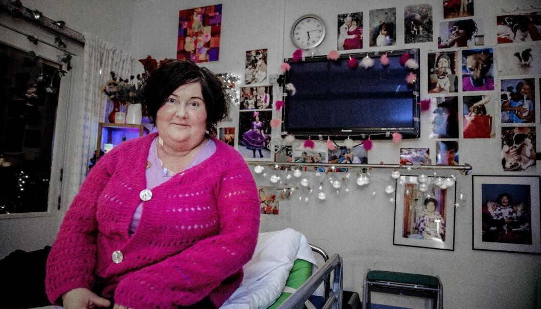 OPERASJON: Christine Koht skal gjennom en operasjon til uken og har ifølge moren som mål å holde seg frisk til å få gjennomført den. Foto: Tor Lindseth / Se og Hør