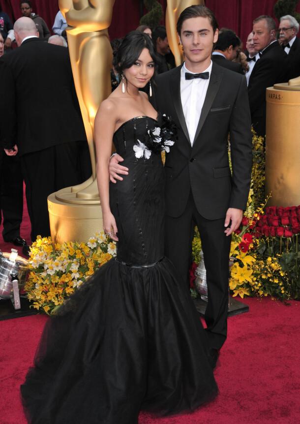 EKSER: Vanessa Hudgens og Zac Efron sammen på Oscar-utdelingen i 2009. Foto: NTB scanpix