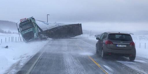 image: Skrekktall om vogntog på norske veier
