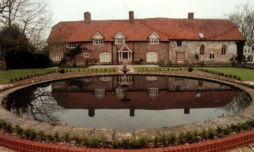 PRAKTEIENDOM: Stefan Persson kjøpte Park House i grevskapet Wiltshire i 1992. Godset ligger diskret tilbaketrukket fra landsbyen Ramsbury. Foto: Seamus Murphy / NTB Scanpix