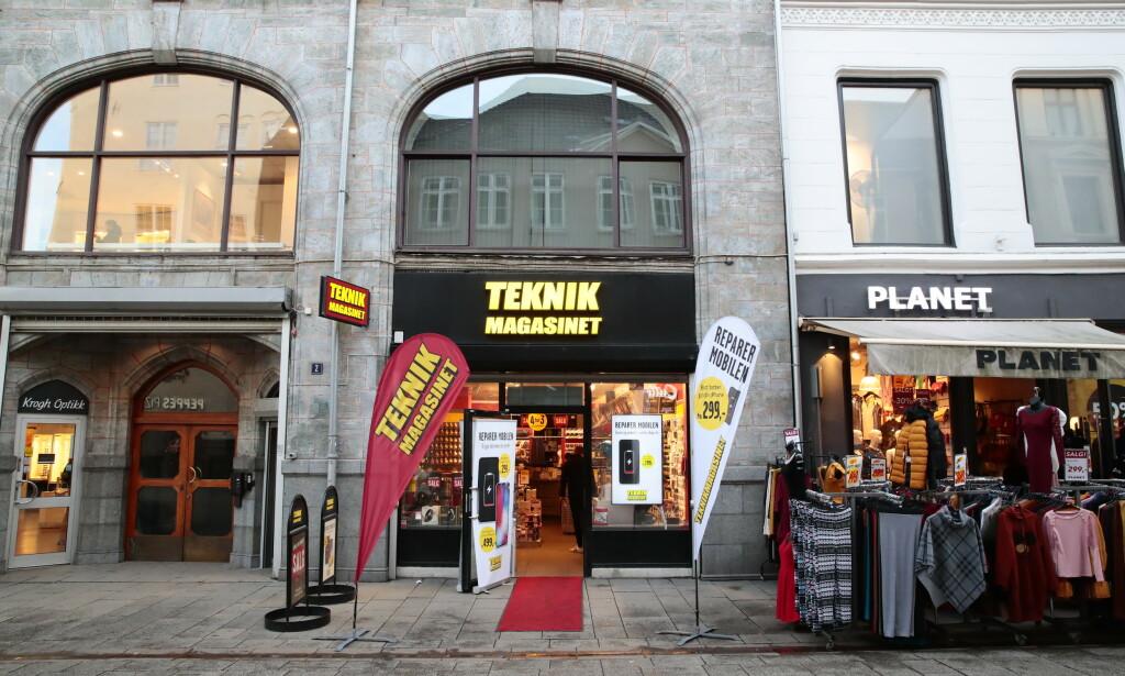 REDDET: Teknikmagasinet begjærte seg konkurs i Sverige 15. januar. Nå er kjeden reddet, inkludert de 35 norske butikkene. Foto: Håkon Mosvold Larsen / NTB scanpix