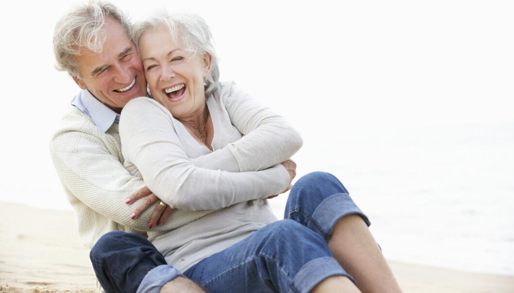 LEK ER NØDVENDIG: Latter forlenger livet. FOTO: NTB Scanpix.