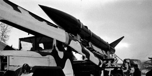 image: Her ligger Norges eneste atomrakett