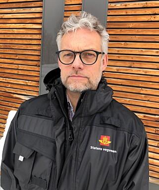 NY JOBB: Kjetil Wigdel tiltrådte 1. januar som leder for utekontrollen i Vegvesenet. Foto: Statens vegvesen