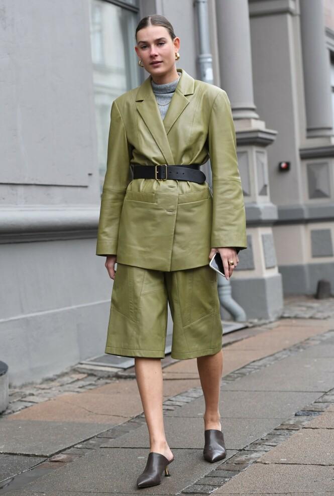 AVSLAPPET DRESS: Shorts som disse kommer vi til å se mye av i trendbildet framover. Foto: NTB Scanpix