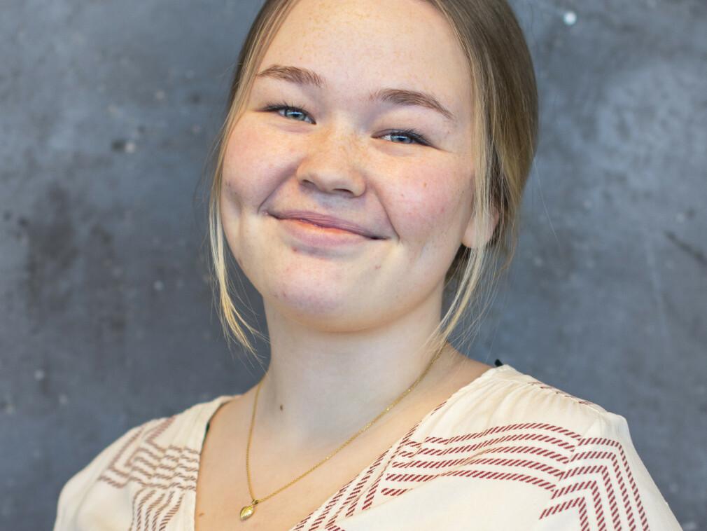 Bianca Eilertsen er ansatt som frontend-utvikler hos MarkedsPartner.