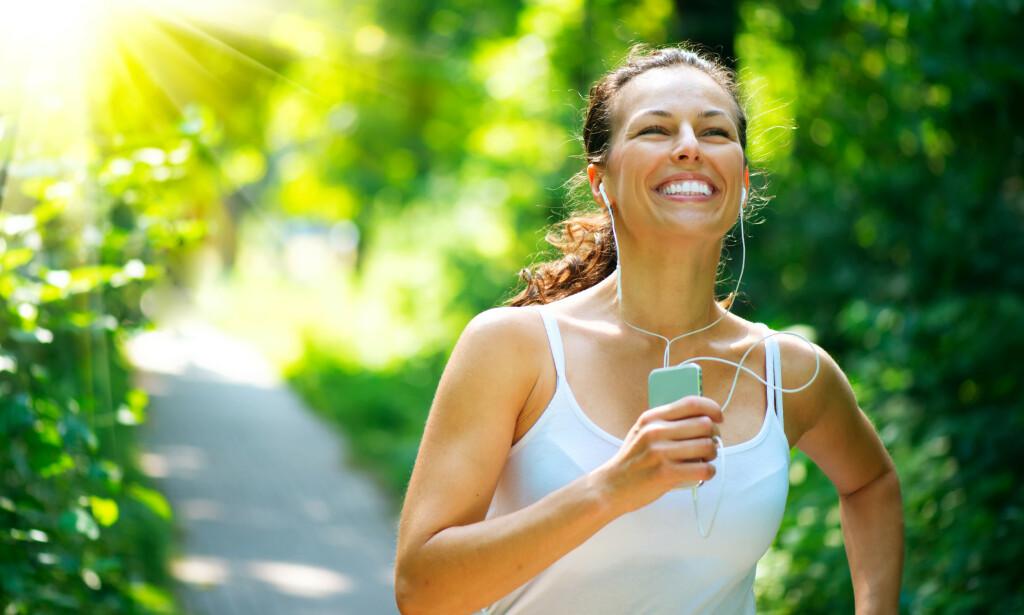 FÅ EKSPERTENES RÅD: Når du begynner å trene, merker du raskt bedring, spesielt om du ikke har vært så veldig aktiv tidligere. Foto: Shutterstock / NTB Scanpix