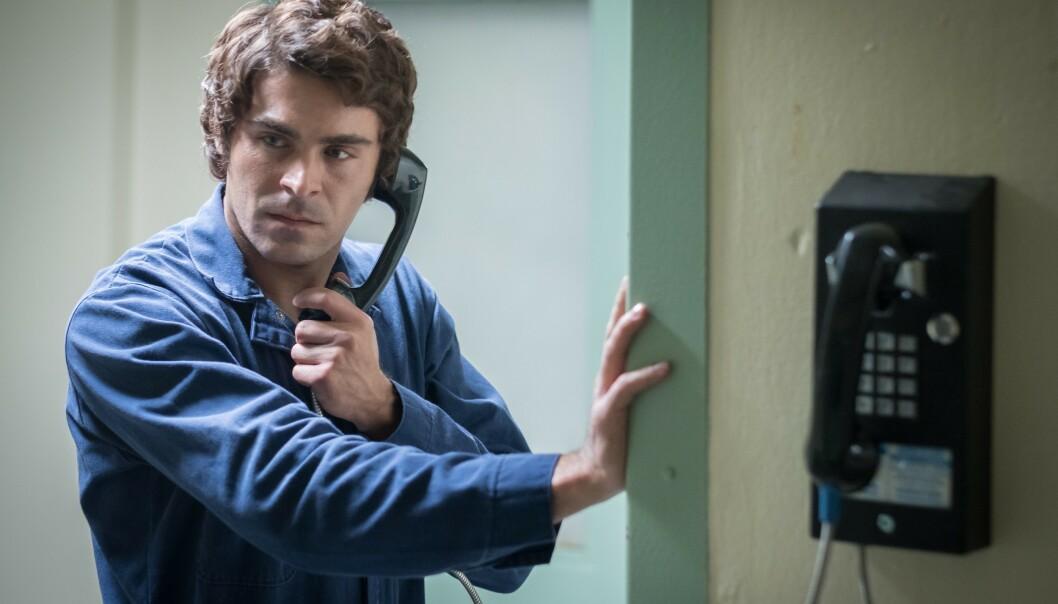 ROLLEN SOM SERIEMORDER: Zac Efron (32) i rollen som seriemorderen Ted Bundy i filmen «Extremely Wicked, Shockingly Evil and Vile» fra 2019. Foto: NTB Scanpix