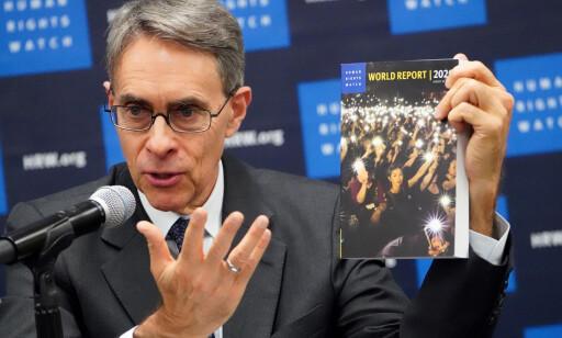 - BURDE ALDRI SELGES: Det mener Kenneth Roth, administrerende direktør i Human Rights Watch om PIR og .ORG-domenet. Foto: Carlo Allegri / Reuters / NTB Scanpix