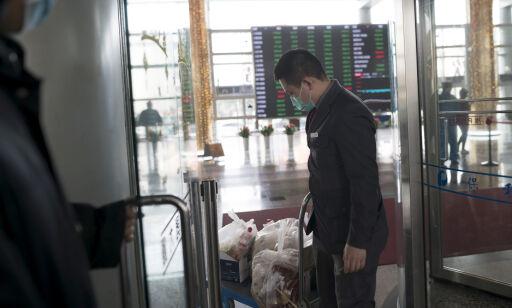 image: Virusfrykt sender kinesiske børser i fritt fall