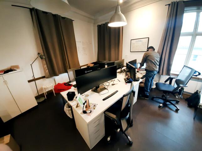 Hos Frontkom har Sondre Bye Humberset den siste tida jobba med en Drupal-løsning. 📸: Privat