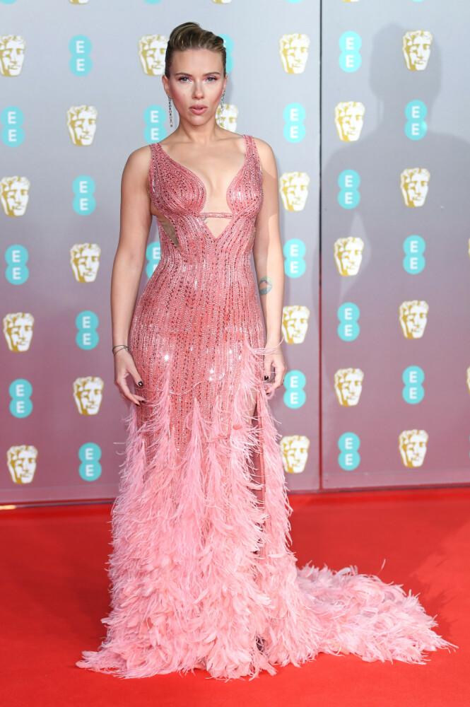 BAFTA: Scarlett Johansson. Foto: NTB Scanpix