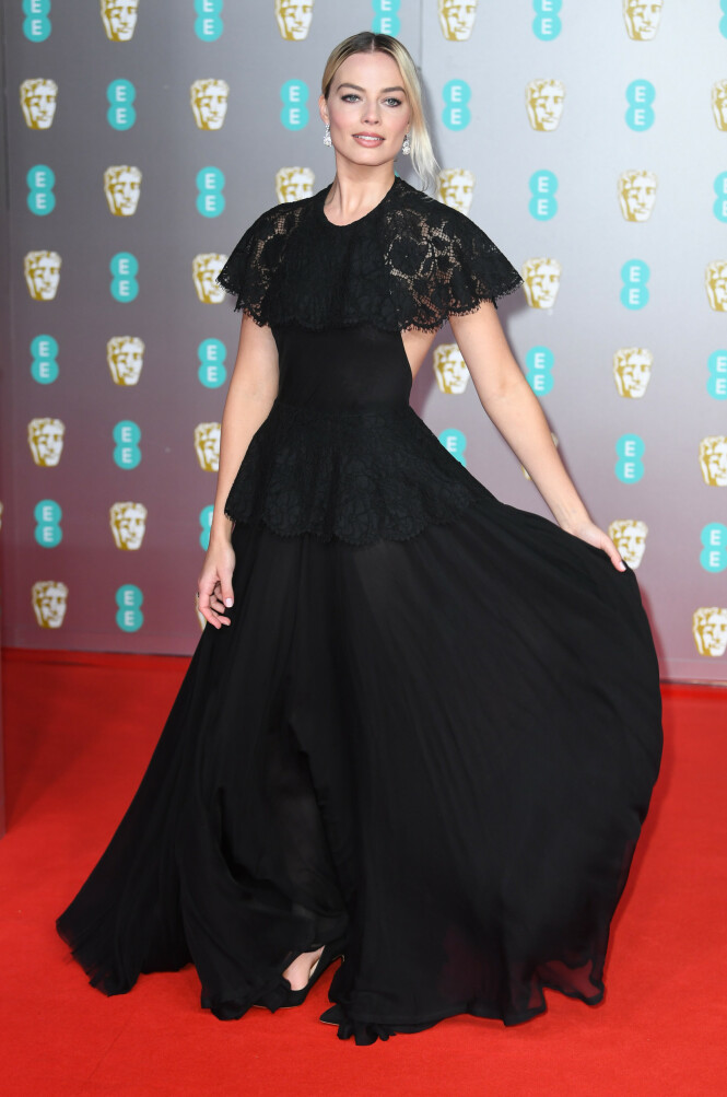 BAFTA: Margot Robbie. Foto: NTB Scanpix