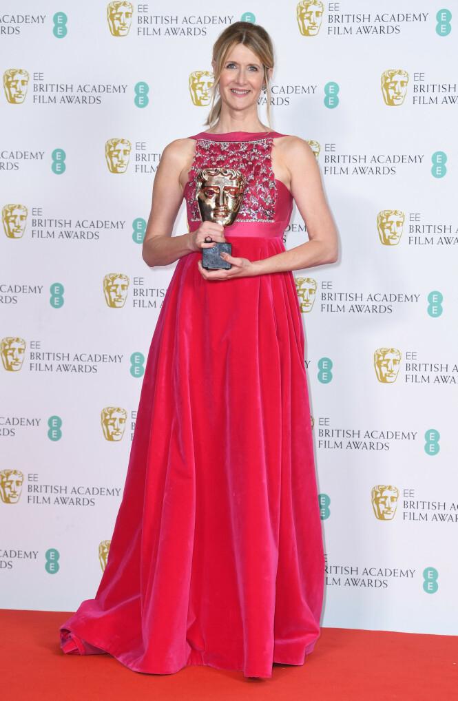 BAFTA: Laura Dern. Foto: NTB Scanpix