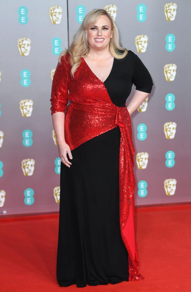 BAFTA: Rebel Wilson. Foto: NTB Scanpix