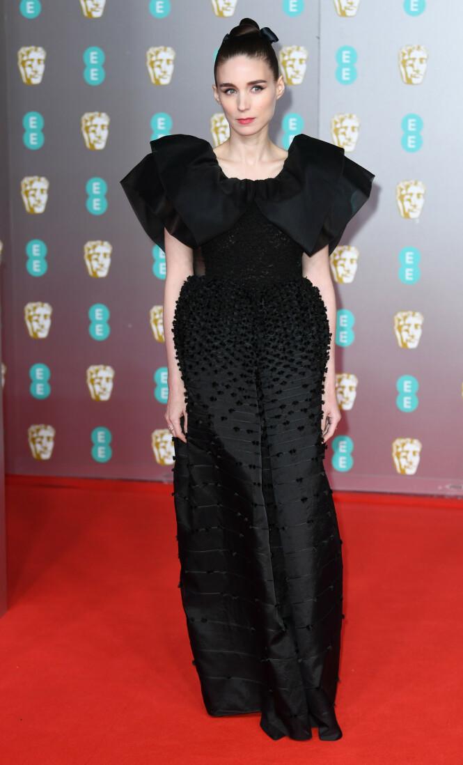 BAFTA: Rooney Mara. Foto: NTB Scanpix
