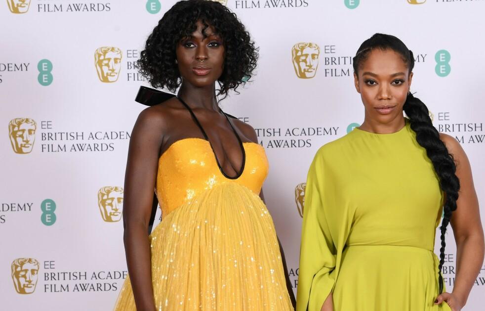 BAFTA 2020: Stjernene strålte på den røde løperen i London. Foto: NTB Scanpix