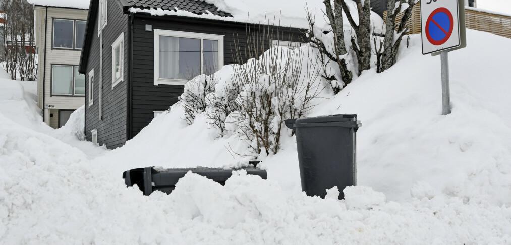 Farevarsel: Mye snø over store deler av landet