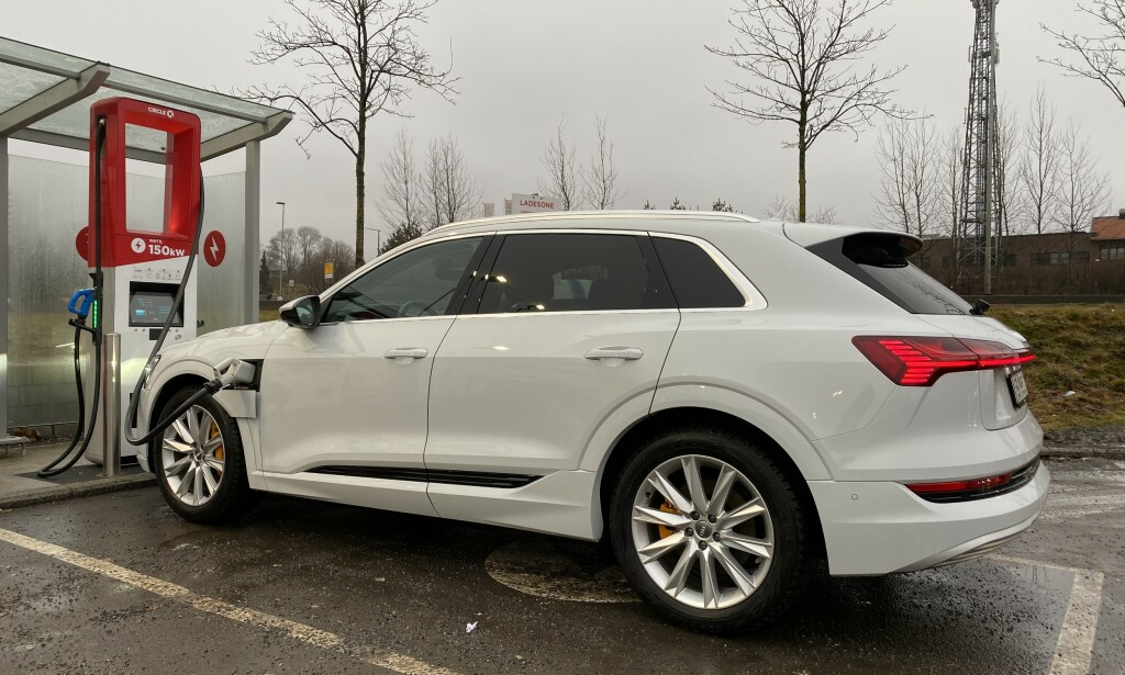 PÅ TOPP: Audi e-tron topper registreringsstatistikken for januar. Foto: Fred Magne Skillebæk