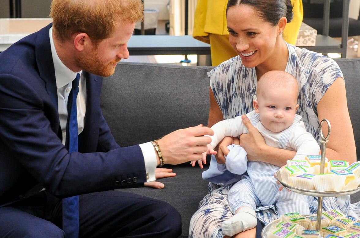 NYE JAKTMARKER: Prins Harry, hertuginne Meghan og sønnen Archie skal visstnok ha planer om å tilbringe tid i Los Angeles fremover. Foto: NTB scanpix