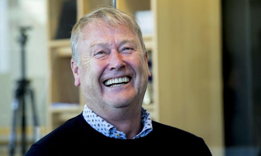 image: Norges fotballherrer møter Danmark og Hareide før EM