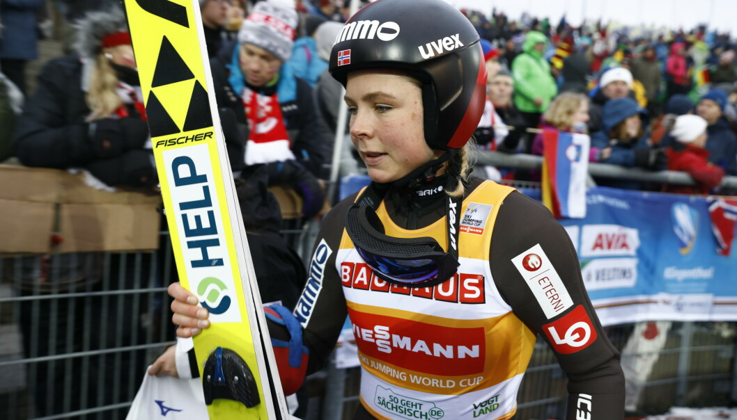 Maren Lundby skal få ro. Foto: Tore Meek / NTB scanpix.