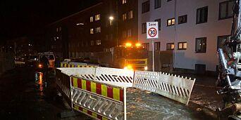 image: Ny vannlekkasje i Oslo
