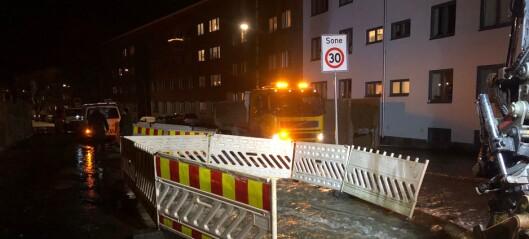 Ny vannlekkasje i Oslo