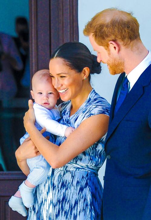FORLOT STORBRITANNIA: Meghan og Harry er for tiden bosatt i Canada med sønnen Archie. Foto: NTB Scanpix