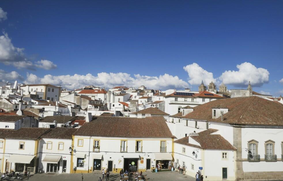 PORTUGAL: Évora er den koselige hovedstaden i Alentejo. FOTO: Karna Bunk-Jensen