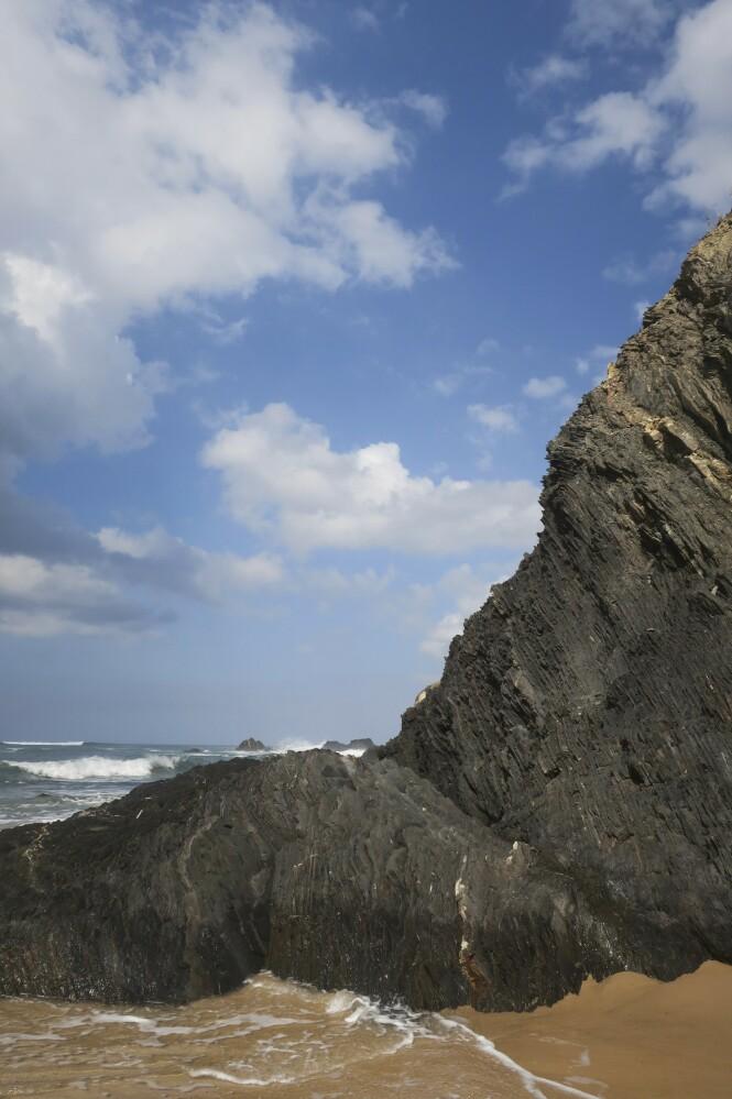 En stor del av ruten Fisherman's Trail går langs kysten og direkte på stranden. FOTO: Karna Bunk-Jensen