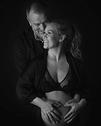 ØNSKER SEG FLERE BARN: Til tross for at prosessen med prøverørsbehandling er både fysisk og psykisk krevende, ser paret ikke bort ifra at de vil gjør et nytt forsøk snart. FOTO: Gina Englund