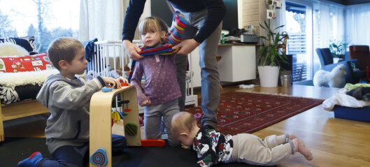 Bortskjemte småbarns-foreldre
