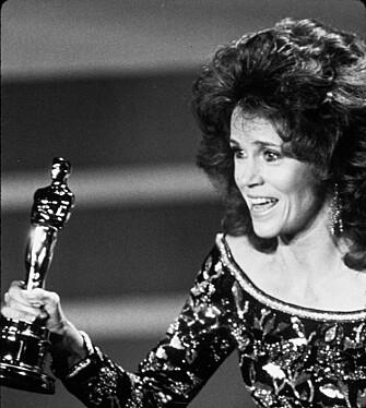 OSCAR: Jane fikk sin andre Oscar i 1978. (Foto: NTB Scanpix)