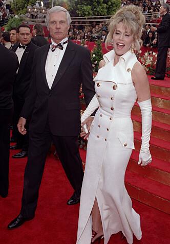 TED OG JANE: Ekteskapet med forretningsmogulen Ted Turner på 90-tallet var ikke lykkelig. (Foto: NTB Scanpix)