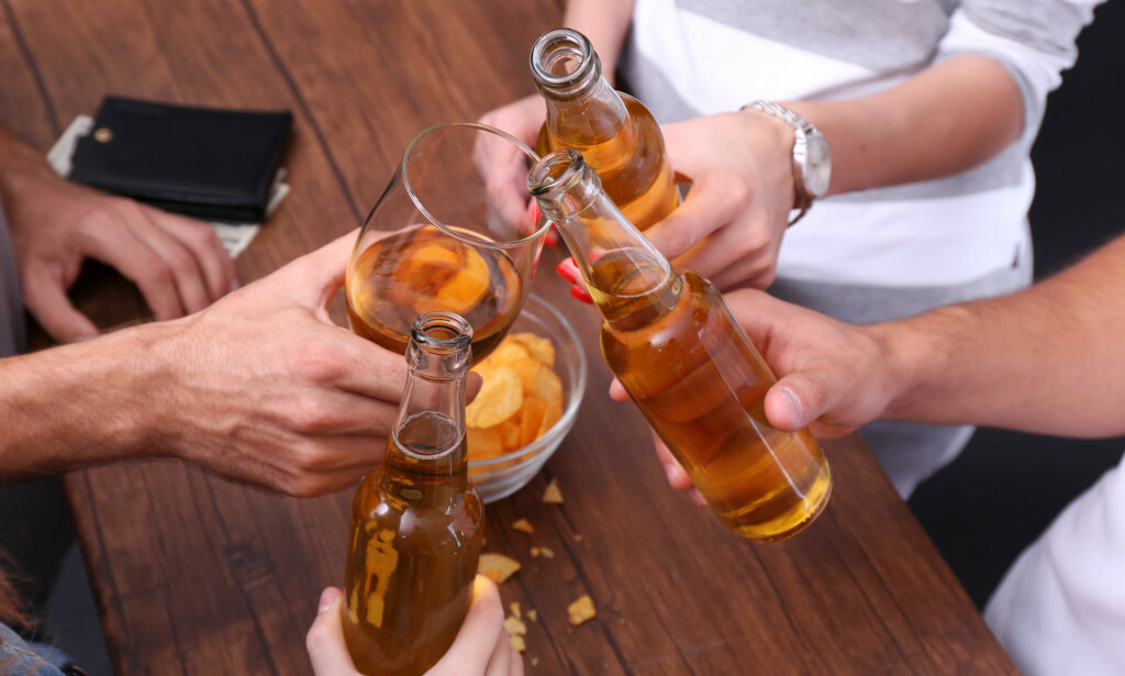 ALKOHOL: Alkohol er en av hovedårsakene til kreft i nordiske land. Foto: Shutterstock/NTB Scanpix