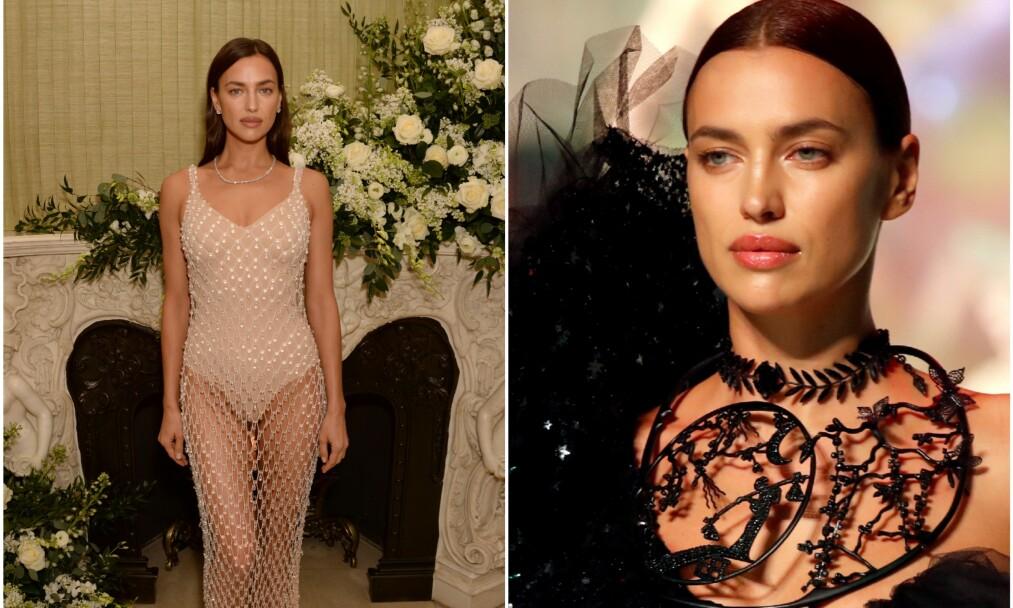 VANSKELIG OPPVEKST: Irina Shayk er i dag en verdenskjent modell. Foto: NTB Scanpix