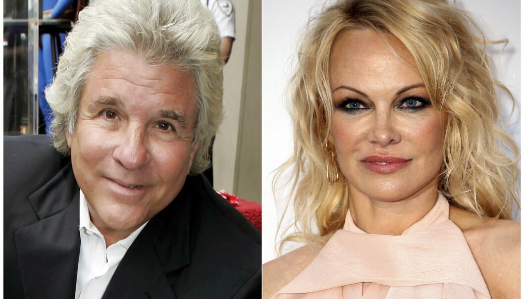 KORT EKTESKAP: Lykken var av det kortvarige slaget for Jon Peters (74) og Pamela Anderson (52). Foto: AP/NTB scanpix