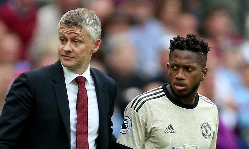 HAR FÅTT TILLIT: Fred har vokst med oppgavene under Ole Gunnar Solskjaer i Manchester United. Foto: NTB scanpix