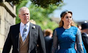 - Prins Andrew skal følge datteren til alters