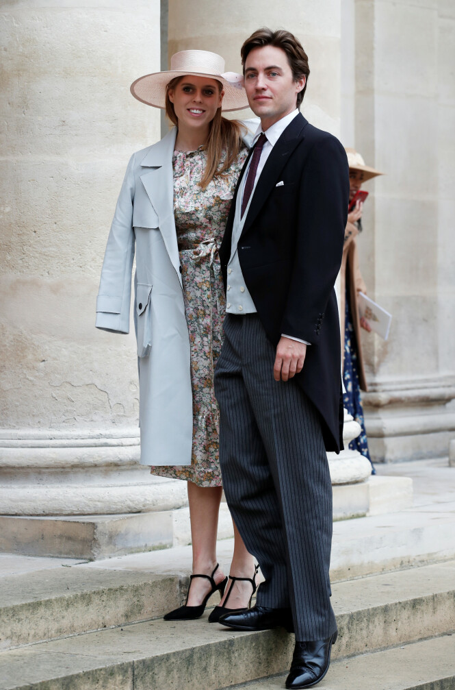 FORLOVET: Prinsessen forlovet seg med Edoardo Mapelli Mozzi i september i fjor. I mai skal bryllupet stå. Foto: NTB Scanpix