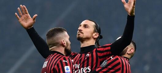 Zlatan herjet - så kollapset Milan