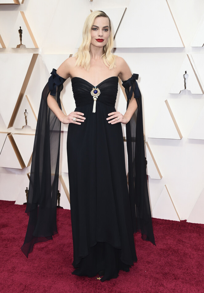 <strong>DETALJER:</strong> Margot Robbies flaggermusermer mottar variert kritikk. Foto: NTB scanpix
