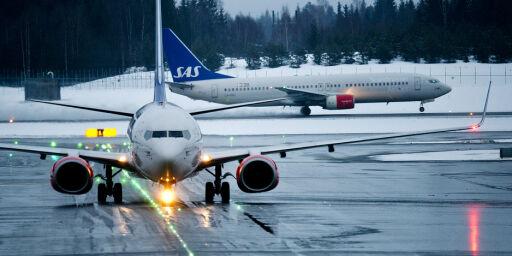 image: Trøbbel i flytrafikken
