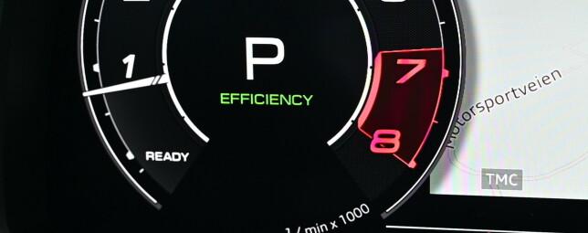 MILD: En beltedrevet-kombinert startmotor og regenerator sørger for å spare dråper når man ikke bruker gasspedalen aktivt.Foto: Rune M. Nesheim
