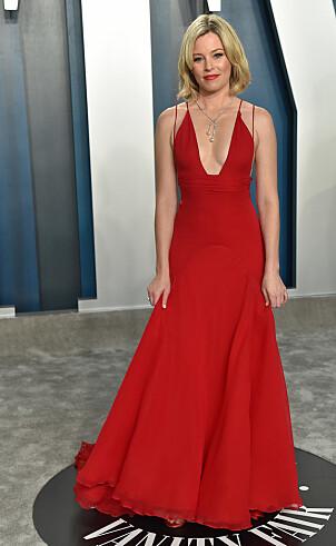 <strong>GJENBRUK:</strong> Skuespiller Elizabeth Banks strålte i gjenbruk under Vanity Fairs etterfest. Foto: NTB Scanpix