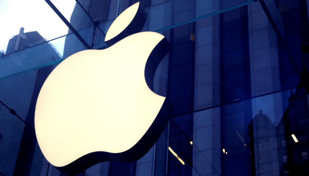 <strong>BØTELAGT:</strong> Franske myndigheter har bøtelagt Apple for villedende kommersiell praksis. Foto: Mike Segar / Reuters / NTB Scanpix