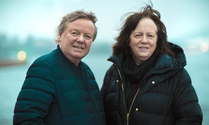 FORELDRENE: Geir og Torill Fossen har stått sammen i den over 20 år lange kampen mot datterens anoreksisykdom. FOTO: Astrid Waller