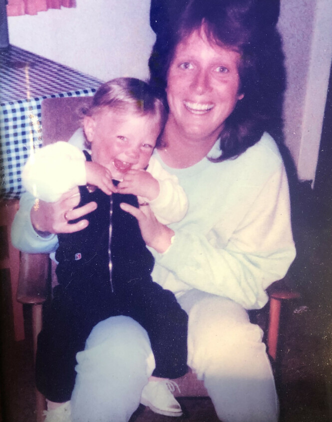 MORSKJÆRLIGHET: - Lene var et veldig ønsket barn, sier moren Torill Fossen til KK. FOTO: Privat